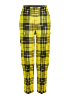 Balenciaga Zipped Virgin Wool Pants