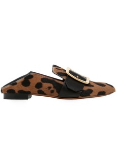 Bally 10mm Janelle Printed Ponyskin Loafers
