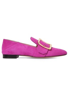 Bally 10mm Janelle Suede Loafers