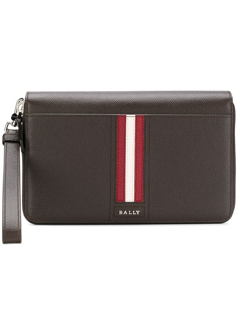 Bally all-around zipped wallet