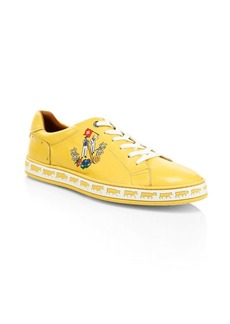 Bally Animals Anistern Leather Low-Top Sneakers