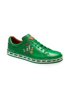 Bally Animals Anistern Low-Top Leather Sneakers
