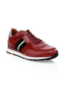 Bally Aston Leather Sneakers