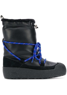 Bally matte snow boots