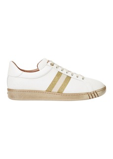 Bally Wicki Glitter Striped Trainer Sneakers
