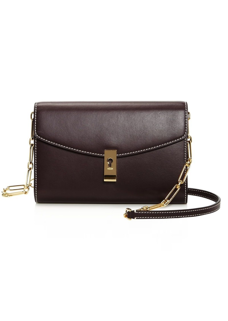 Bally Albae Leather Chain Wallet