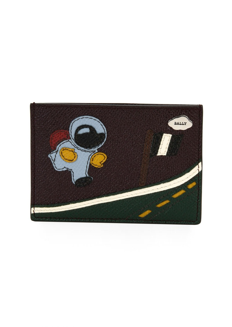 7775a188b0 Bally Bally Barts Leather Space Business Card Holder | Bags