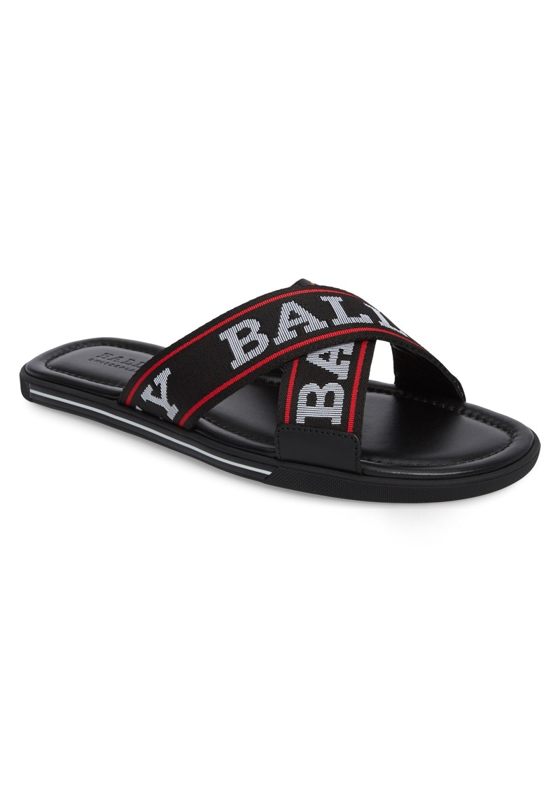 807e8590d7a2 Bally Bally Bonks Logo Slide Sandal (Men)