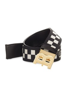 Bally Checkered Belt