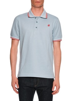 Bally Contrast-Tip Classic Polo Shirt
