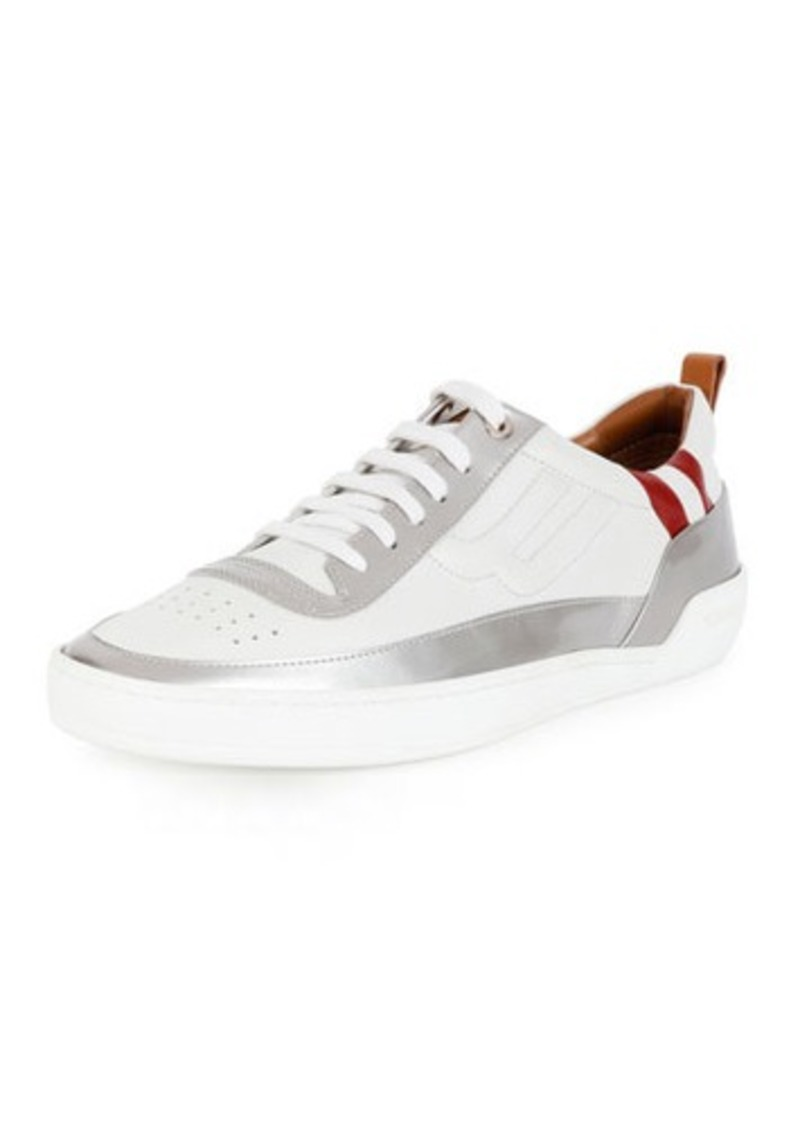 Bally Ethem Leather Lace-Up Sneaker
