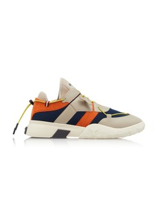 Bally Galwan Mesh-Paneled Leather Sneakers