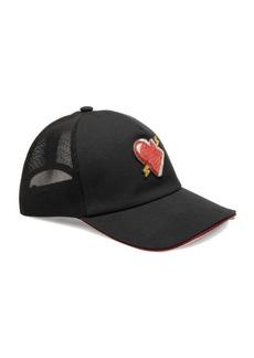 Bally Heart Cotton Baseball Cap