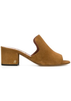 Bally Janisse open-toe mules - Brown