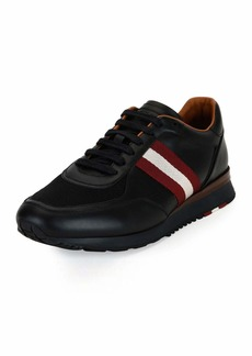 Bally Leather Trainer Sneaker w/Trainspotting Stripe