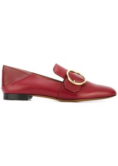 Bally Lottie leather loafers - Red