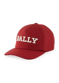 Bally Men's Embroidered Logo Baseball Cap