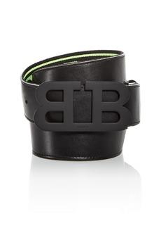 Bally Men's Mirror B Buckle Reversible Leather Belt