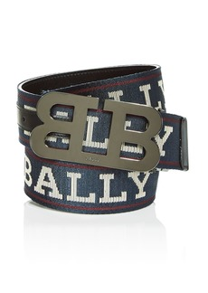 Bally Men's Mirror B Reversible Belt