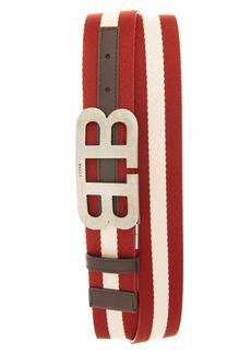 Bally Mirror Buckle Reversible Belt