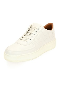 Bally Othello Leather Low-Top Platform Sneaker