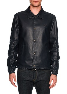 Bally Reversible Leather Overshirt
