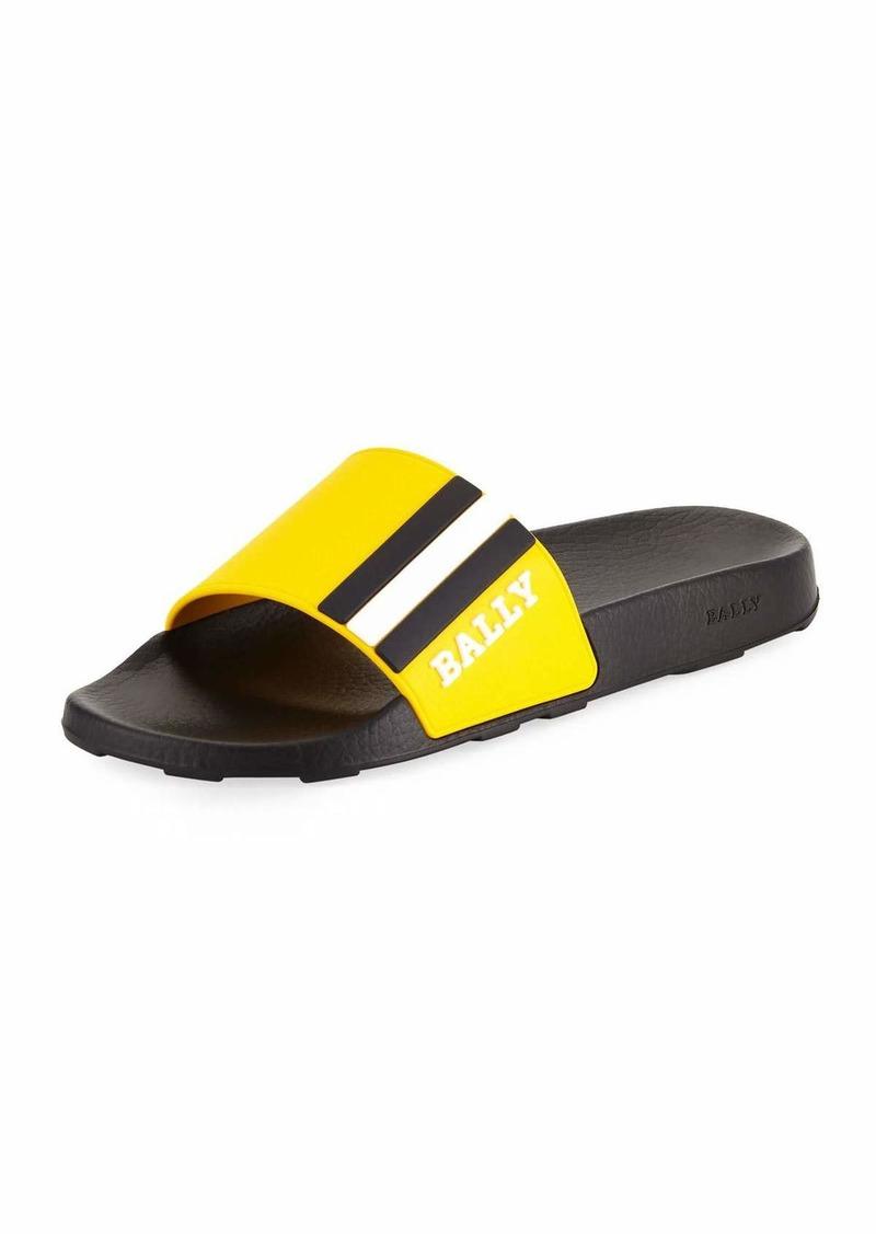 6c857a97c Bally Saxor Rubber Slide Sandal Now $87.00