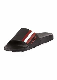 Bally Saxor Rubber Slide Sandal
