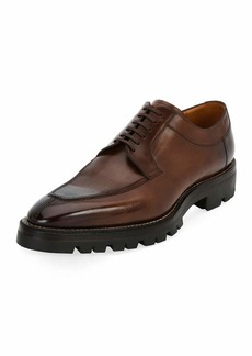 Bally Scuber Lug-Sole Leather Derby Shoe