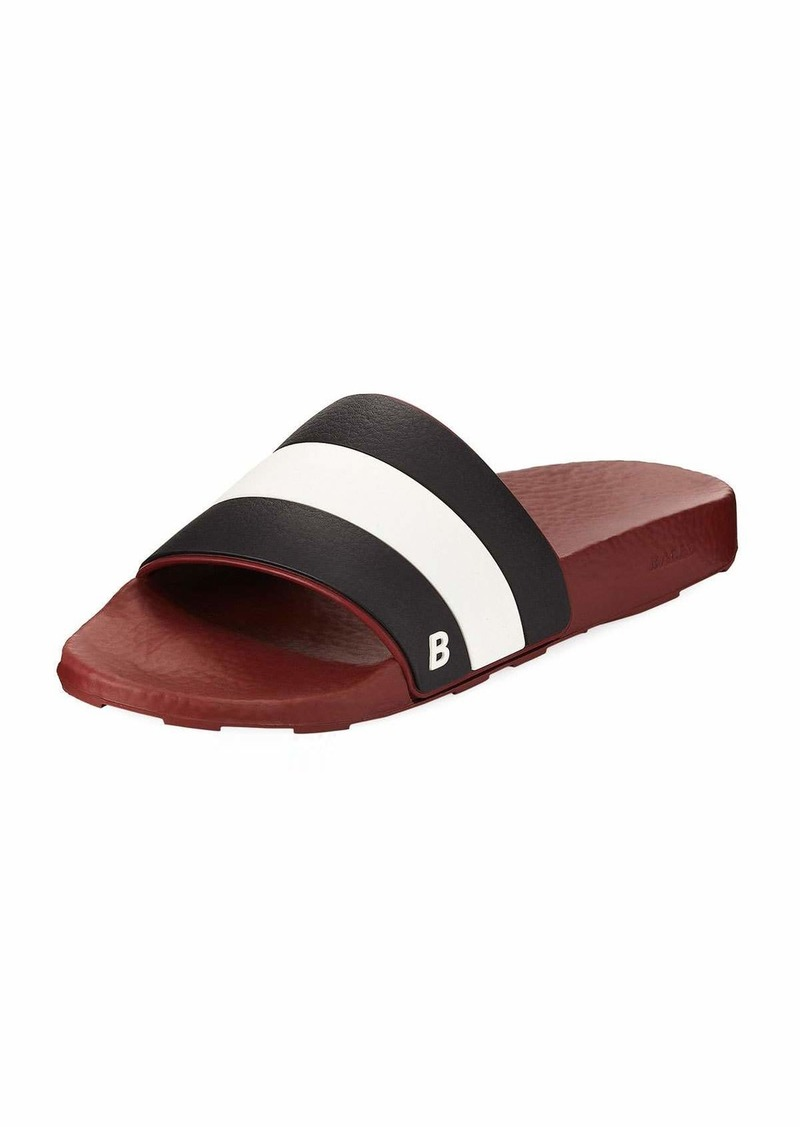 cf45a746b Bally Sleter Rubber Slide Sandal | Shoes