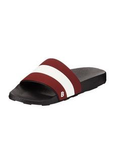 Bally Sleter Rubber Slide Sandal