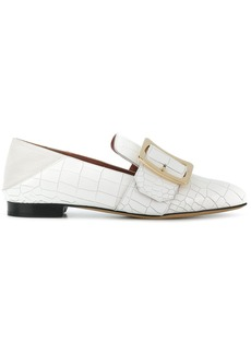 Bally slip-on buckle loafers - White