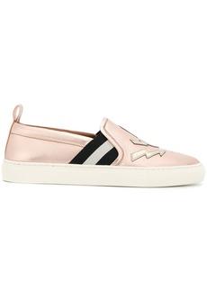 Bally star slip-on sneakers - Pink & Purple
