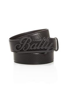 Bally Men's Swoosh Reversible Leather Belt