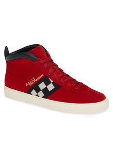 Bally Vita Checkered High Top Sneaker (Men)