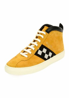 Bally Men's Vita Retro High-Top Sneakers
