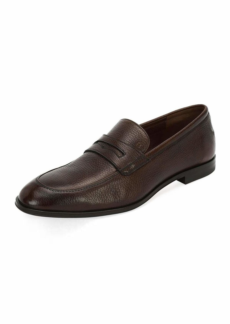 b2a7c690642 Bally Webb Leather Penny Loafer