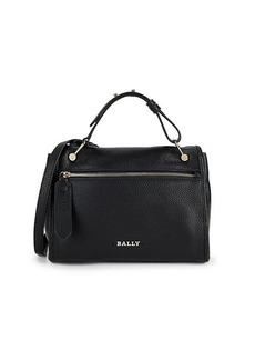 Bally Bianne Leather Top Handle Bag
