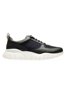 Bally Bienne Leather & Mesh Deconstructed Runnerss