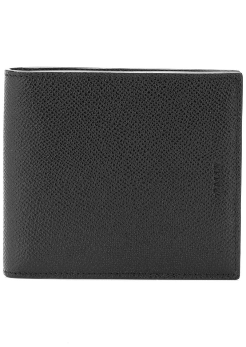 Bally bifold logo embossed wallet