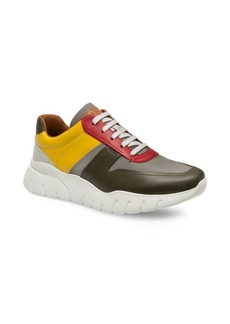 Bally Bizard Colorblock Leather Runners
