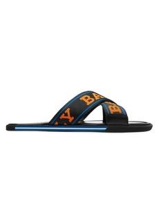 Bally Bondi Bonks Criss-Cross Logo Slides
