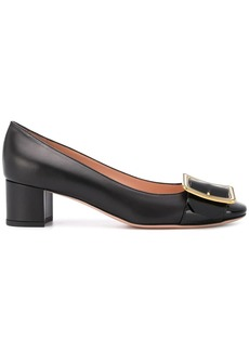 Bally buckle-detail pumps