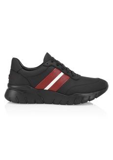 Bally Byllet Side Stripe Low-Top Sneakers