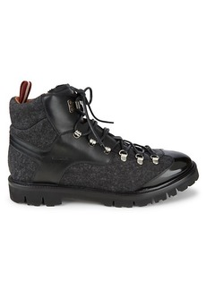 Bally Charls Leather Hiking Boots