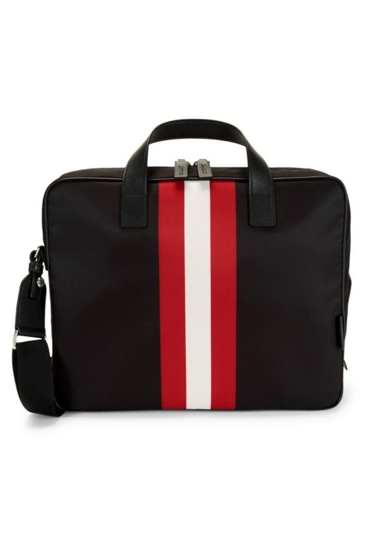 Bally Classic 3-Stripe Briefcase