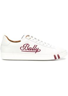 Bally contrast logo sneakers