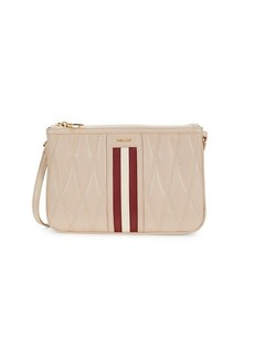 Bally Drice Quilted Leather Crossbody Bag