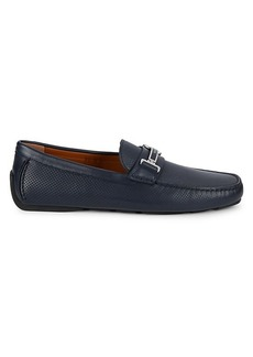 Bally Drulio Perforated Leather Loafers