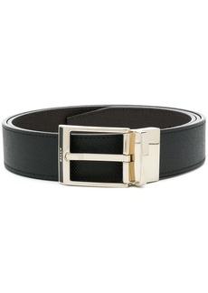 Bally embossed logo belt
